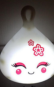 (Väri random) pieni nukke valoa putki johtanut energiaa säästäviä yövalo