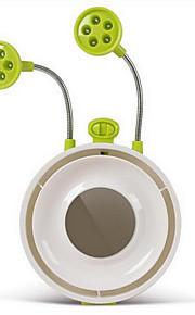 multifunções criativo tabela verde fã mudo luz usb área de trabalho lâmpada da noite