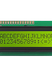 LCD 1602D01 Yellow Thin Membrane Module Parallel Interface is Easy to Control Technology 36