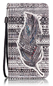 Tribal Feathers 3D Painted Patterns PU Leather Case Cover For Samsung Galaxy A5(2016) / A3(2016)