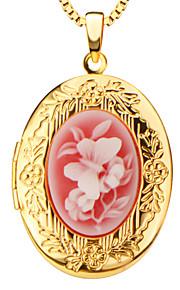 Kropskæde Guldbelagt Moderigtig / Vintage Gul Guld Smykker,1pc