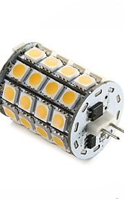 5W G4 LED-lamper med G-sokkel T 49SMD SMD 5050 560±10%LM(The actual measurement) lm Varm hvit / Kjølig hvit DekorativDC 12 / AC 12 / AC24