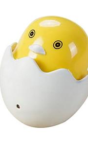luz nocturna llevado pequeña historieta pato amarillo