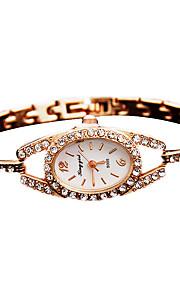 Dames Modieus horloge Kwarts Vrijetijdshorloge Legering Band Goud Merk-