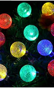 1 Soldrevne LED-lamper 100 lm Varm hvit / Naturlig hvit SMD 3528 Vanntett <5V V 1 stk