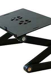 Aliminium alloy Black Laptop Stand/Fordable Desk 42*27*49