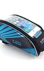 Sac de cadre de vélo Résistant aux Chocs / Ecran tactile / Porte iphone / Téléphone/Iphone Cyclisme/Vélo Nylon Vert / Rouge / Bleu B-SOUL