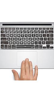 1 kpl Naarmunkestävä Läpinäkyvä muovi Tarrakalvo Piirroshahmo / Ultraohut / Matte VartenMacBook Pro 15 '' kanssa Retina / MacBook Pro 15