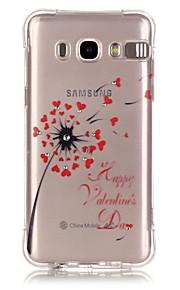 назад Ударопрочный Other TPU Мягкий Popular Brands  Calling Flash  Painted Patterns Для крышки случая Samsung GalaxyJ7 (2016) / J5 (2016)