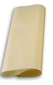 bbq grill matten oven bakken anti-aanbak hittebestendige doek vel linoleum hergebruik olie papier (willekeurige kleur)