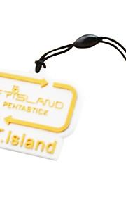 enchufe del polvo del teléfono FT Island logotipo de la marca
