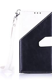 На все тело бумажник / Визитница / Ударопрочный / Пыленепроницаемость / с подставкой Однотонные Искусственная кожа МягкийThe new