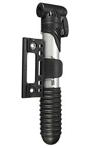 shaoo® sykkel mini pumpe tre avsnitt abs sykkel oppblåsbar bærbar pumpe american ventil fransk ventil
