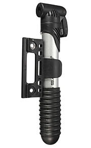 shaoo® cykel mini pumpe 3 sektion abs cykel oppustelige bærbar pumpe amerikansk ventil fransk ventil