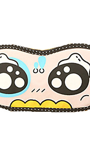 Reiseschlafaugenmaske Typ 0006 gefälschte nette Augen Polyester-Baumwoll-Mischung