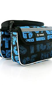 Fietsframetas Schokbestendig / Draagbaar / Multifunctionele / Aanraakscherm / Iphone-Houder / Telefoon/Iphone Fietsen Nylon Zwart / Blauw