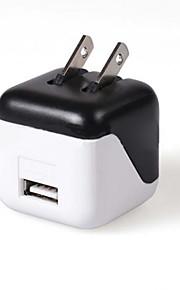 1 porta USB Porte Multi Presa US caricatore domestico Solo Charger per il cellulare / For iPhone5V , 1A)