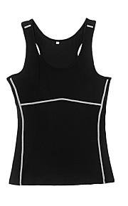 Course Shirt / Costume de compression/Sous maillot / Débardeur Femme Respirable / Séchage rapide / Compression / Anti-transpirationYoga /