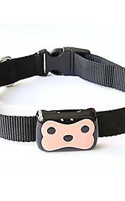 חתולים / כלבים קולרי GPS עמיד למים / כוללים סוללות / GPS Black / ורוד פלסטיק