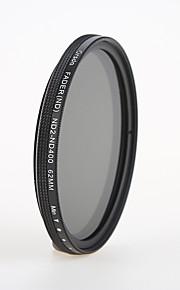 orsda® nd2-400 62mm justerbar belagt (16 lag) fmc filter