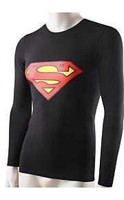 Homme Course Shirt Course Respirable / Séchage rapide / Compression / Anti-transpiration Vert / Rouge / Noir / Bleu AutresVêtements de