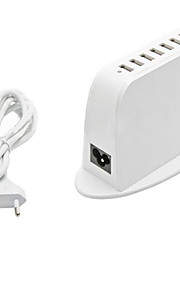 7 USB Ports Multi Ports Home Charger with Cable For iPad / For Cellphone / For iPhone / For Other Pad