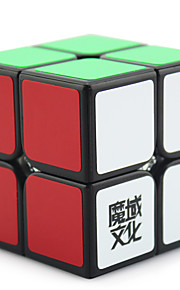 Magic Cube / Puzzle Toy IQ Cube Yongjun Two-layer Professional Level Smooth Speed Cube Magic Cube puzzleBlack / White