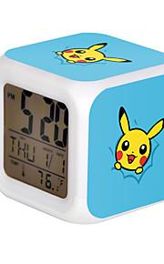 Poke Ball Colorful Flash Cartoon Alarm Clock-24#