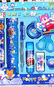 Suprimentos de correção Canetas esferográficas,Plástico Azul