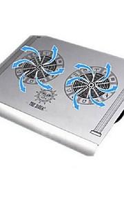 cmpick aleación de aluminio portátil base de enfriamiento de aluminio puro USB