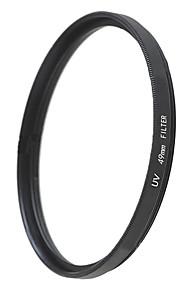 emoblitz 49mm uv ultraviolet protector linse filter sort