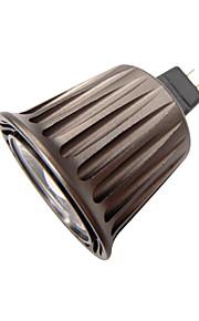 5 G53 LED-spotpærer MR16 1 Høyeffekts-LED 340 lm Varm hvit / Kjølig hvit Dekorativ DC 12 V 1 stk.