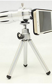 Apple 4 / 4s 5 / 5s 12 vezes gm zoom telefoto telescópio a câmera fotográfica exterior len