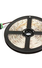 # 5 M 300 2835 SMD Hvid / Rød / Gul / Blå / Grøn Vanntett / Selvklebende W Fleksible LED-lysstriper DC12 V