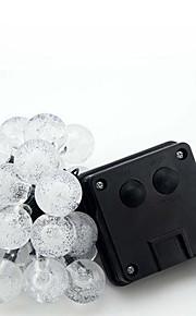 NO 6 M 30 Dip Led לבן חמים / לבן / RGB / כחול חסין למים W חוטי תאורה <5V V