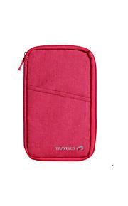 Travel Reisepassgeldbeutel Koffer Accessoires Stoff Schwarz / Rot KUSHUN ™ / BirdRoom®