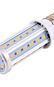 12W E26/E27 LED-kornpærer T 42 SMD 5730 950-1050 lm Varm hvit / Kjølig hvit Dekorativ AC 220-240 / AC 110-130 / AC 85-265 V 1 stk.