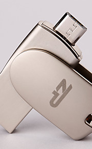 ZP C05 64GB USB 2.0 Wasserresistent / Schockresistent / Rotierend / Kompatibel mit OTG (Micro USB)