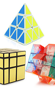 Yongjun® Magiske terninger 3*3*3 / Pyraminx / Alien Spejl / Professionel Level Glat Speed ​​Cube Ivory glat Sticker YulongAnti-pop /