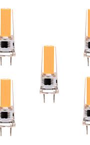 5W G8 LED-lamper med G-sokkel T 1 COB 400-500 lm Varm hvit / Kjølig hvit Dimbar / Dekorativ AC 220-240 / AC 110-130 V 5 stk.