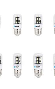 6 E14 / G9 / GU10 / B22 / E26/E27 Lâmpadas Espiga B 30 SMD 5733 500 lm Branco Quente / Branco Frio Decorativa AC 220-240 V 8 Pças.