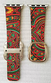 Red / Green / Yellow / Rose Leather Modern Buckle For Apple Watch 38mm / 42mm