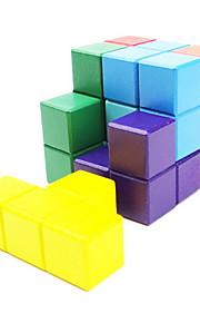 Legetøj / Magiske terninger 3*3*3 / Magic Toy Glat Speed Cube Magic Cube puslespil Regnbue Træ