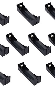 10PCS single battery box 18650 pin DIY lithium battery seat installed 1 18650 battery plate