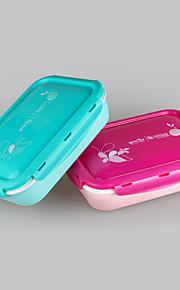 yeeyoo marca promocional regalo apto para microondas 401 pp 5 compartimiento de la caja de almuerzo distribuidor