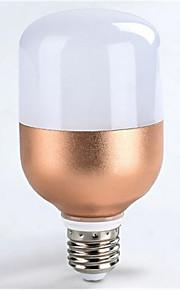 9 E26/E27 Lâmpada Redonda LED A60(A19) 22 SMD 5730 800LM lm Branco Quente / Branco Frio Decorativa / Impermeável AC 220-240 V 1 pç