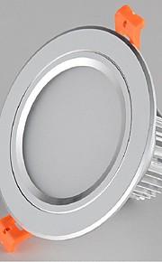 85-265V levou 7w 330-360lm 2700-6500k quente luz branca para baixo branco frio