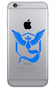 Bakdeksel IMD / Ultratynn / Bisque / Mønster Other TPU Myk Tilfelle dekke for Apple iPhone 6s Plus/6 Plus / iPhone 6s/6