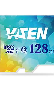 Yisen 128 GB UHS-I U1 / clase 10 microSD / microSDHC / microSDXC / tfmax leer speed80 (MB / s)