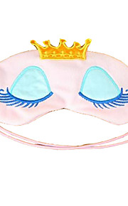 coroa cílios desenhos animados eyeshade sono de beleza